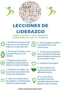 Lecciones de liderazgo (2)